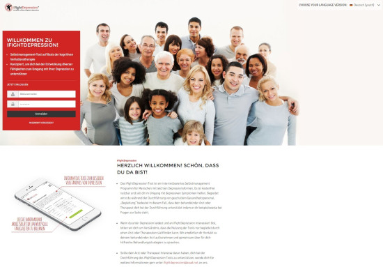 Homepage Startseite Online-Selbstmanagement-Programm iFight Depression Online-Selbstmanagement-Programm iFight Depression