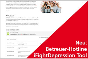 Screenshot iFightDepression Tool